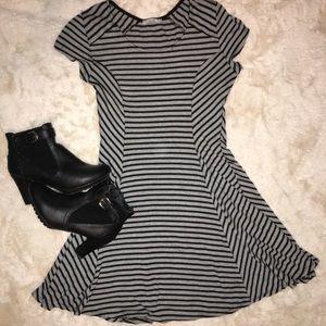 Striped Stretchy Dress